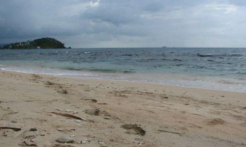 Zdjecie PANAMA / Colon Province / Isla Grande / Na plaży