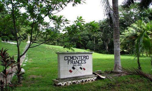 Zdjęcie PANAMA / Panama Province / Cementario Frances / Pierwsi budowniczowie kanału