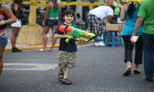 Zdjecie PANAMA / Panama C / Ave. Espania / W czasie Karnawału dzieci się nie nudzą