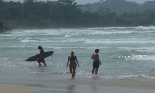 Zdjęcie PANAMA / Bocas del Toro / ... / na plaży na Karaibach