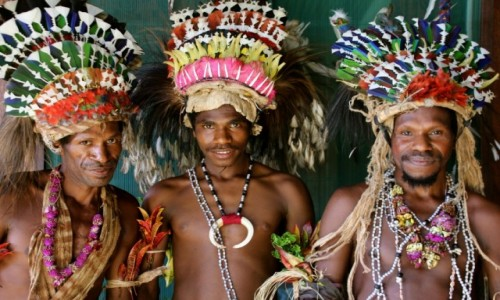 Zdjecie PAPUA NOWA GWINEA / Milne Bay / Alotau / festival