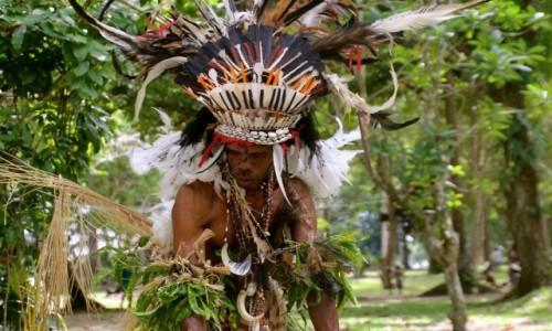 Zdjęcie PAPUA NOWA GWINEA / Trobriand Islands / Kirivina / Festival