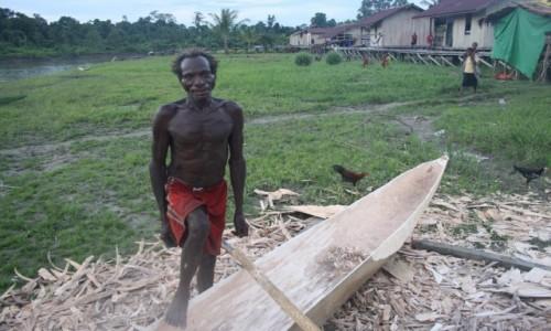 Zdjecie PAPUA NOWA GWINEA / Sungai Brazze / gdzieś w jungli / Papua