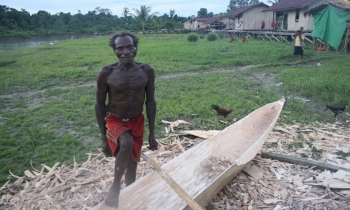 PAPUA NOWA GWINEA / Sungai Brazze / gdzieś w jungli / Papua