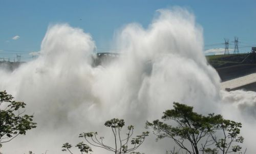 PARAGWAJ / brak / Foz de Iguazu / Itaipu