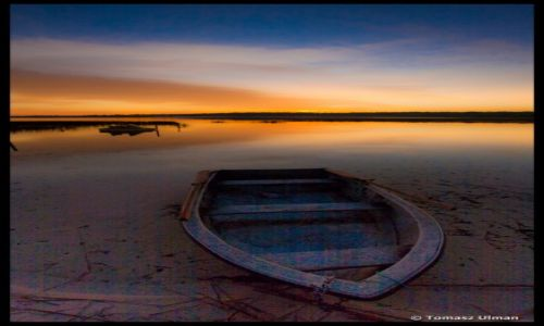 Zdjecie PARAGWAJ / Chaco / Laguna Blanca Rancho / wschód słońca  - Laguna Blanca