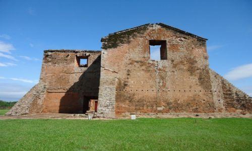 Zdjęcie PARAGWAJ / Itapua / Trinidad / Ruiny misji