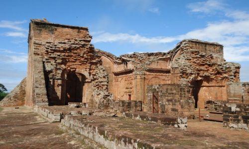 Zdjecie PARAGWAJ / Itapua / Trinidad / Ruiny misji (2)