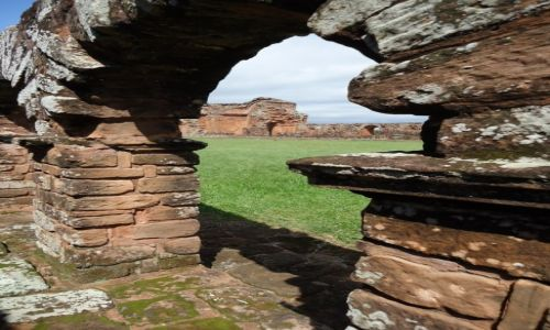 Zdjecie PARAGWAJ / Itapua / Trinidad / Ruiny misji (3)