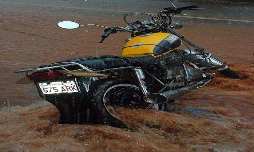 PARAGWAJ / Paragwaj / Asuncion / pora deszczowa w Paragwaju