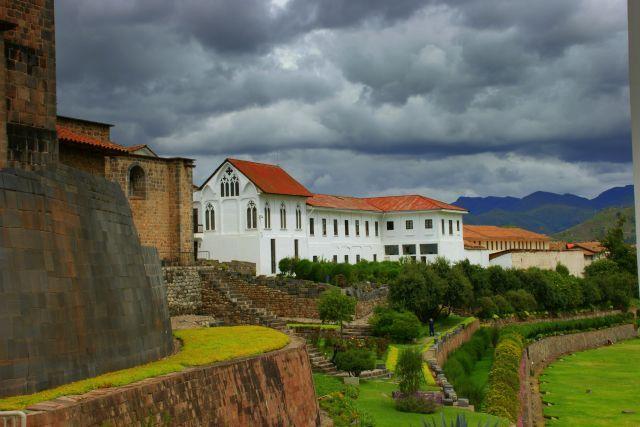Zdjęcia: Cuzco, Cuzco, Pałac  biskupi  Cuzco, PERU