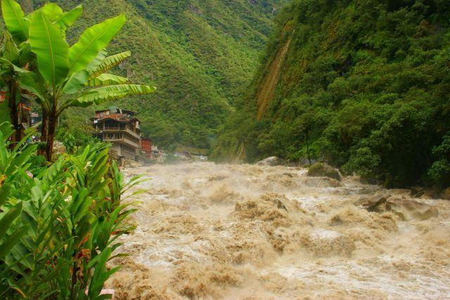 Zdjęcie PERU > Machu Picchu > Machu Picchu > Rzeka