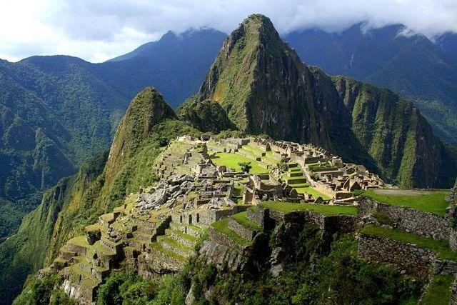 Zdjęcia: Machu Picchu, Widokówka z Peru, PERU