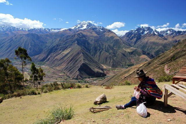 Zdj�cia: �wi�ta Dolina Ink�w, praca z widokami, PERU