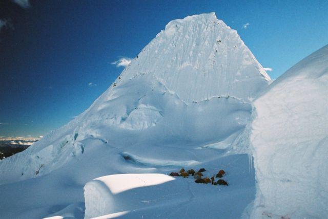 Zdjęcia: Cordillera Blanca, obóz pod Alpamayo, PERU
