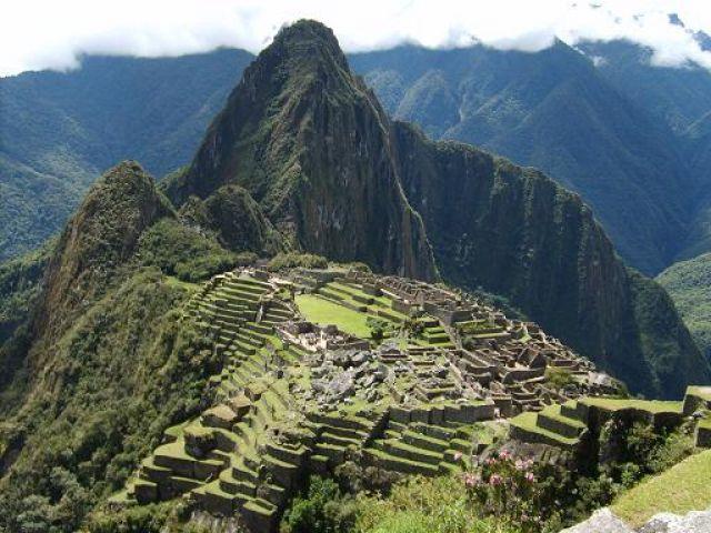 Zdjęcia: Machu Picchu, Machu Picchu (widok pocztówkowy niemalże), PERU