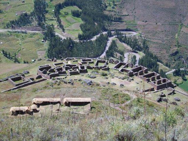 Zdj�cia: pisac, ruiny w pisac (p'isaqa), PERU