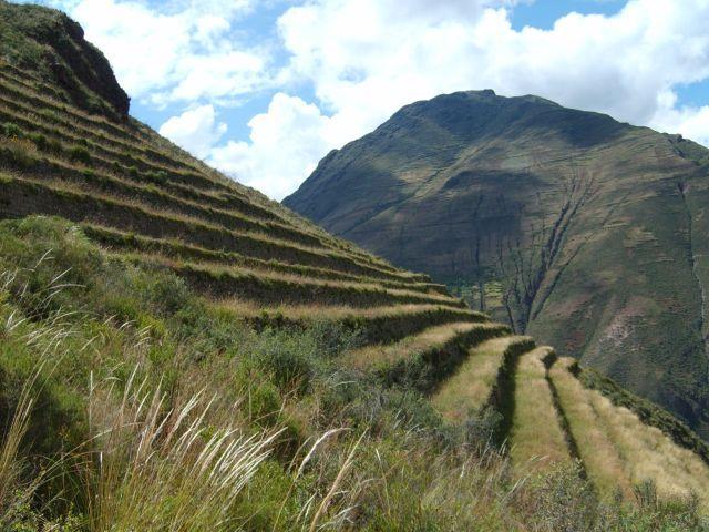 Zdjęcia: okolice Pisac, tarasy w Świętej Dolinie, PERU