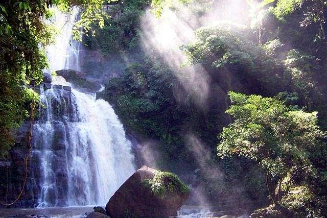 Zdjęcia: pn od Yurinaki, dep. Junin, central selva, Catarata Bayoz, PERU