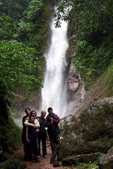 Zdjęcia: pd od San Ramon, dep. Junin, central selva, Catarata Tirol, PERU