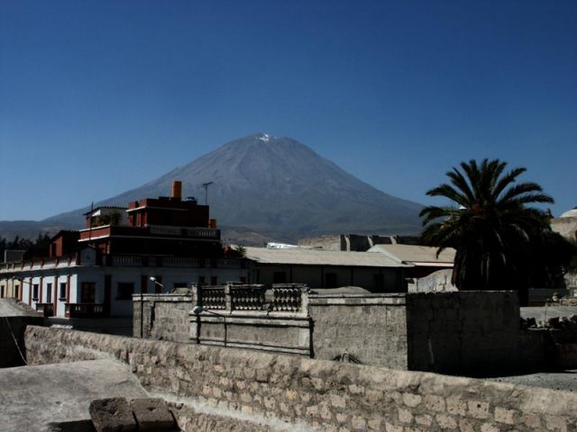 Zdjęcia: z hotelu, arequipa, el misti, PERU