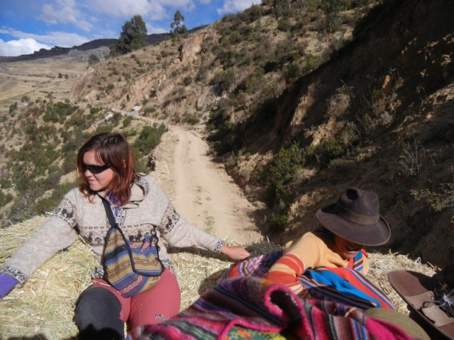 Zdjęcia: Cahuana, Arequipa, stop na sianku (zdjęcie do artykułu), PERU
