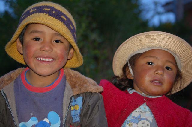Zdjęcia: Okolice Cusco, Świeta Dolina, Dzieci , PERU