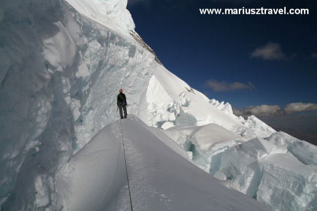 Zdjęcia: cordllera blanca, lodowy labirynt, PERU