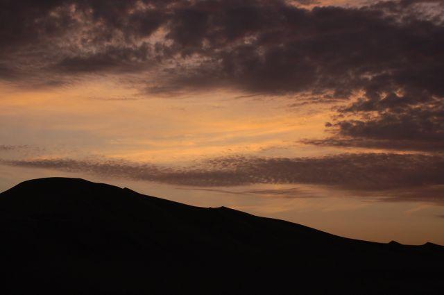 Zdjęcia: Ica, Wydmy o zachodzie słońca, PERU