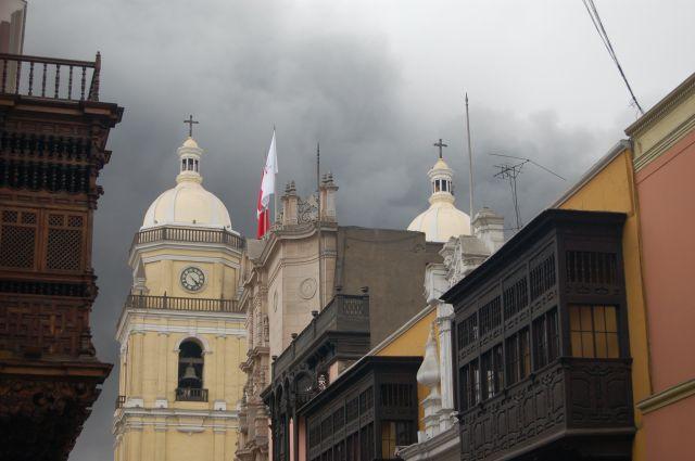 Zdjęcia: Lima, Pożar, PERU