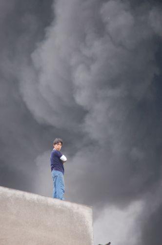 Zdjęcia: Lima, Pożar Limy, PERU