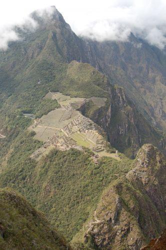 Zdjęcia: Machu Picchu widok z Wayna Picchu, Machu Picchu , PERU