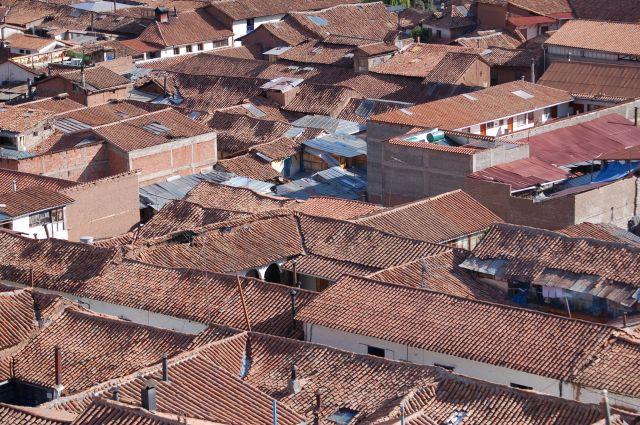 Zdjęcia: Cusco, Dachy, PERU