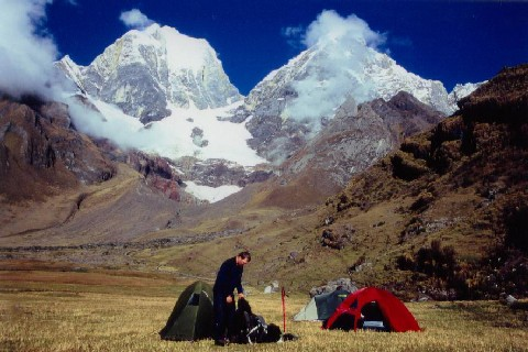 Zdjęcia: Huayhuash, w gorach, PERU