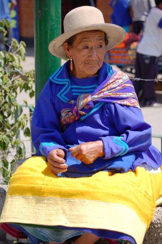 Zdjęcia: Huaraz, Cordyliera Blanca, Portret Kobiety, PERU