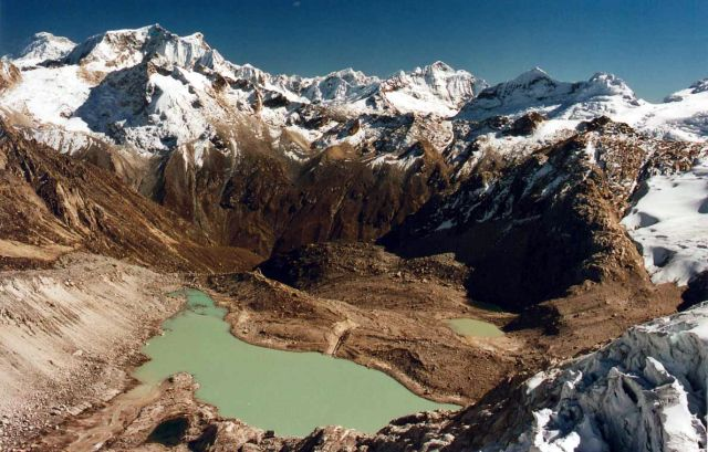 Zdjęcia: Cordierra Blanca, widok z Ishinka 5550m, PERU