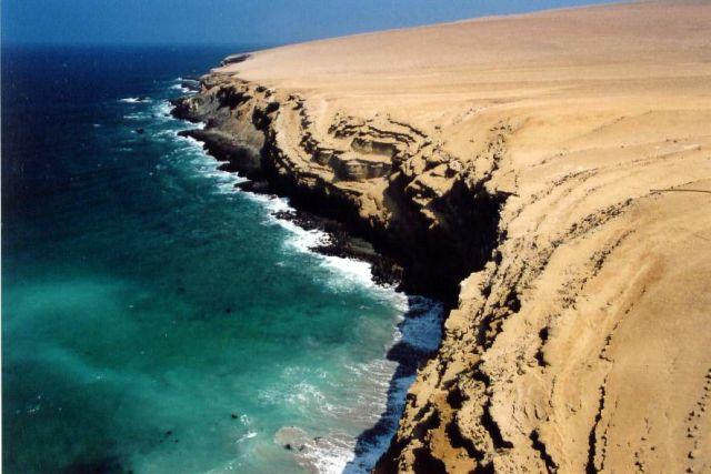 Zdjęcia: peninsula Paracas, pustynne wybrzeze, PERU