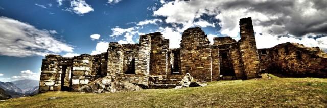 Zdjęcia: Choquequirao, Cusco, Pałac Pachacuteca, PERU