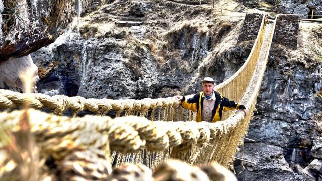 Zdjęcia: Apurimac, Cusco, Wiszący most Q'eswachaka na rzece Apurimac, PERU