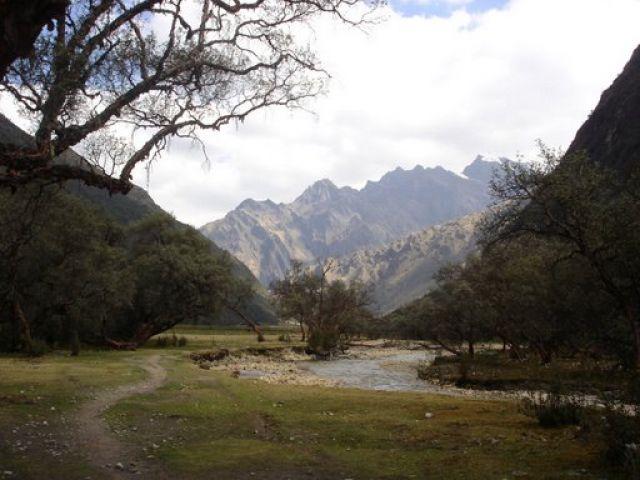 Zdj�cia: Huascaran National Park, Ancash, gdzies na szlaku..., PERU