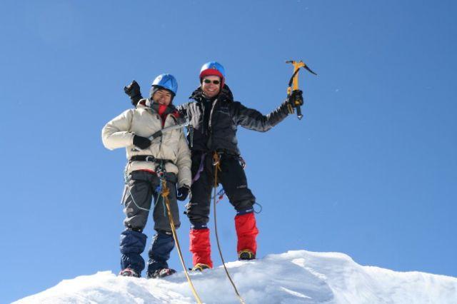 Zdjęcia: Cordillera Blanca, na szczycie, PERU