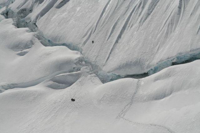 Zdjęcia: Cordillera Blanca, widać 3 Basków schodzących ze sciany, PERU