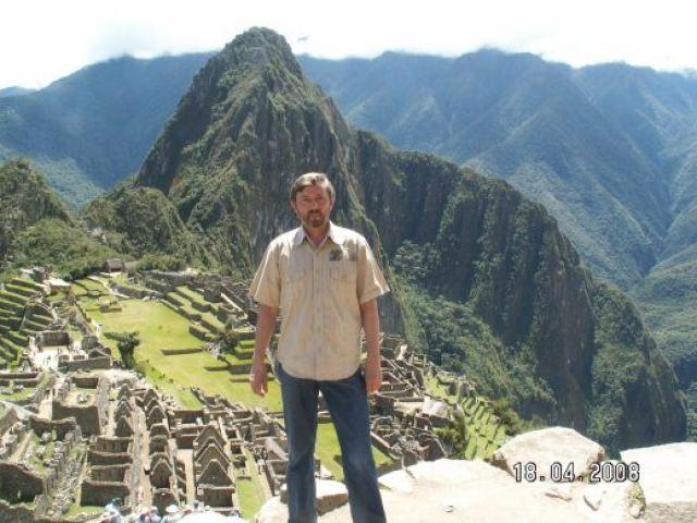 Zdjęcia: Machu Pichu, Machu Pichu - widok z domu strażnika, PERU