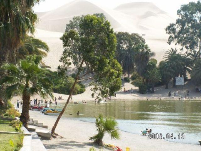 Zdjęcia: HUacachina, Laguna de Huacachina - oaza na pustyni , PERU