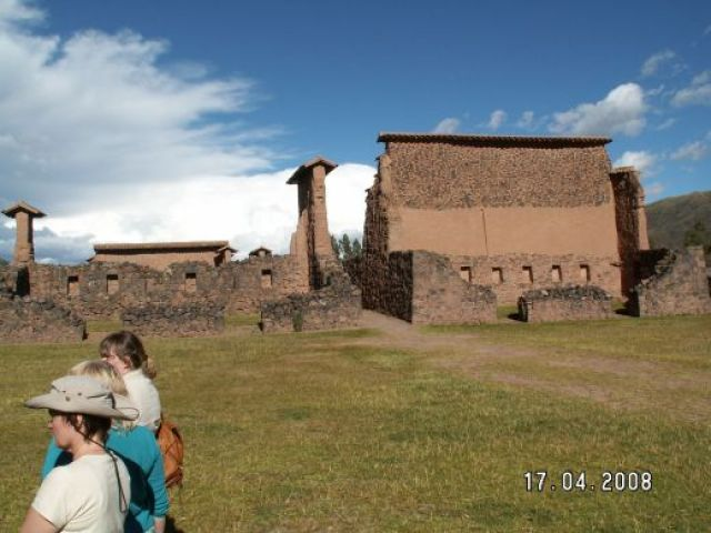 Zdjęcia: Racche, Ruiny Świątyni Boga Wiracochy, PERU