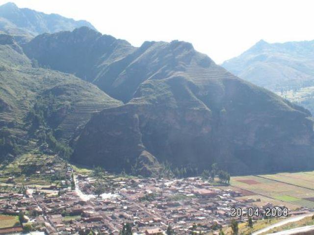 Zdjęcia: Pisac - Święta Dolina Inków, Sanktuarium Pisac. Skrzydła kondora chronią największe cmentarzysko inkaskie, PERU