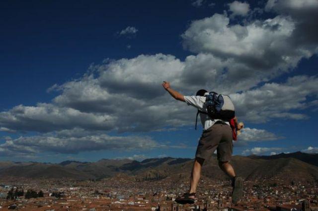 Zdjęcia: Cusco, Skok nad Cusco, PERU