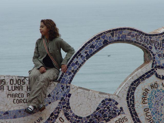 Zdj�cia: Lima, Wybrze�e Oceanu Spokojnego, wsp�czesna peruwianka, PERU