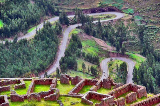 Zdjęcia: Tiahuanaco ruiny starożytnego miasta, * * *, PERU