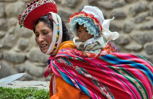 Zdjęcia: Miasteczko PISAC, Z mamą najlepiej:, PERU